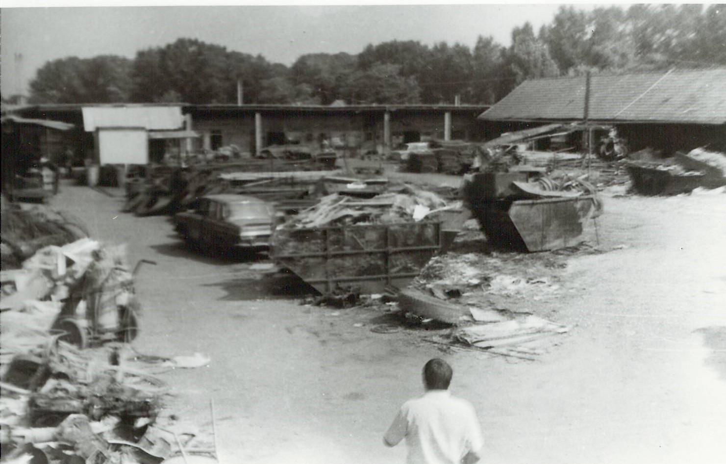 Ulaz u stari Čakovečki otpad