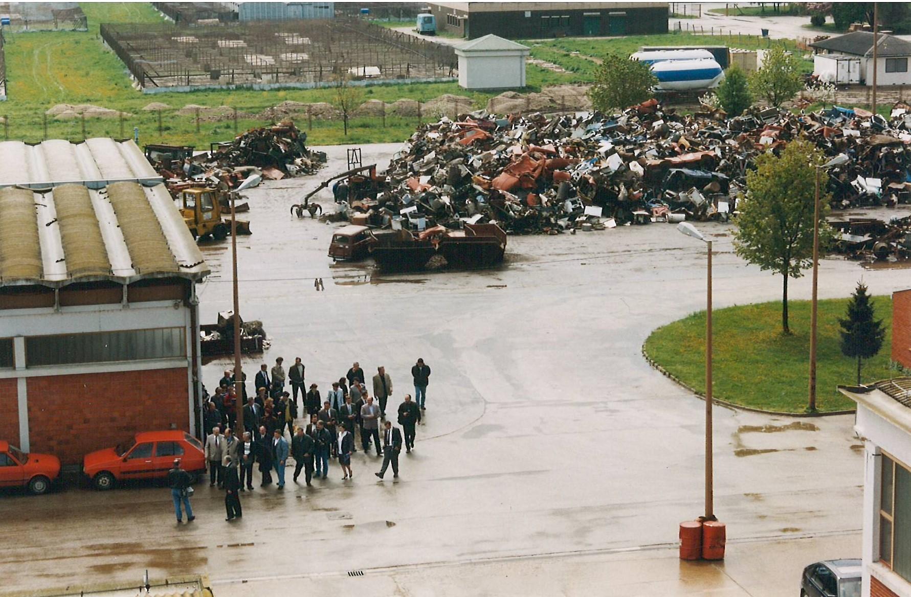 Posjet župana i izaslanstva Međimurske županije 1999.