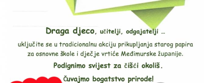 """Rezultati akcije """"Papir nije smeće 2017./2018."""""""